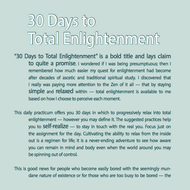 30 Days to Total Enlightenment-c (1)